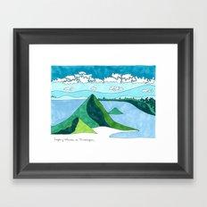Nicaragua, Land of Lakes and Volcanoes Framed Art Print