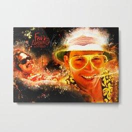 Fear and Loathing in Las Vegas - Alternative Movie Poster Metal Print
