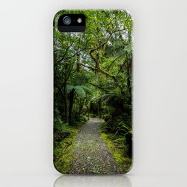 Jungle Path iPhone Case