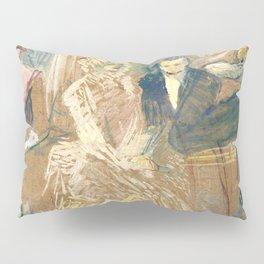 """Henri de Toulouse-Lautrec """"Au Bal masqué de l'Elysée Montmartre"""" Pillow Sham"""