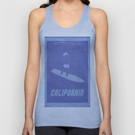 Retrogaming - California games Unisex Tank Top