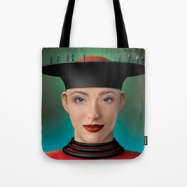 business on the edge Tote Bag
