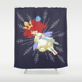 Speltöser - Aurora - Child of Light Shower Curtain