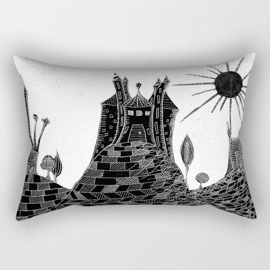 Bubu´s castle Rectangular Pillow