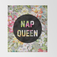 Nap Queen Throw Blanket