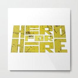 Luke Cage - Hero for Hire Metal Print