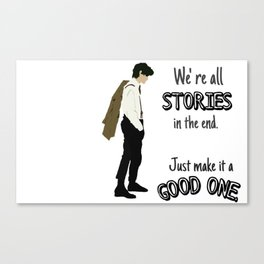 Doctor- Stories Canvas Print