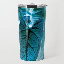 Jungle leaf - invert Travel Mug