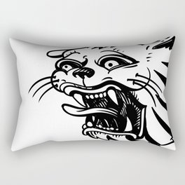 The Sucky Panther from Russian criminal tattoo Rectangular Pillow
