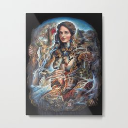 Our Lady of Water Metal Print