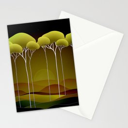 Sunrise on the Hill Stationery Cards
