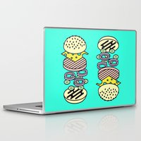 burger Laptop & iPad Skins featuring Burger by Jan Luzar