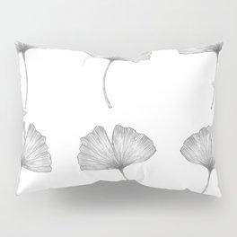 Ginkgo biloba pattern I Pillow Sham