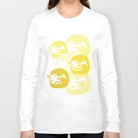 one line Long Sleeve T-shirts featuring One line by Stefanmp