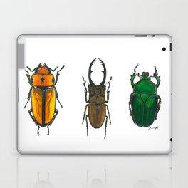 Illustration of Three Beetles Laptop & iPad Skin