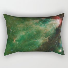 Cepheus C and Cepheus B Region by Spitzer Rectangular Pillow