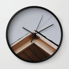 Peak of the House Wall Clock