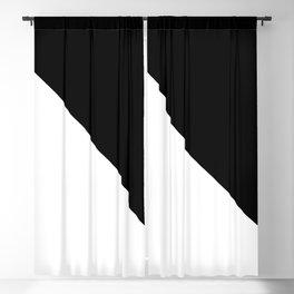 WHITE\BLACK Blackout Curtain
