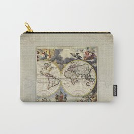 World Old Map Carry-All Pouch