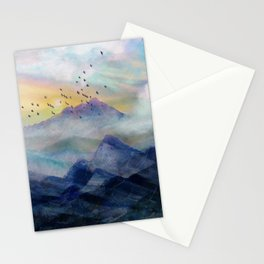 Mountain Sunrise Stationery Cards