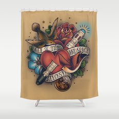 All of Time and Space Shower Curtain