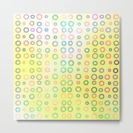 Playful circles II Metal Print