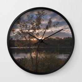By the Pond Wall Clock