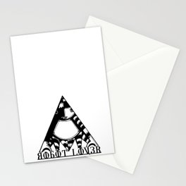 Robot Lover Stationery Cards