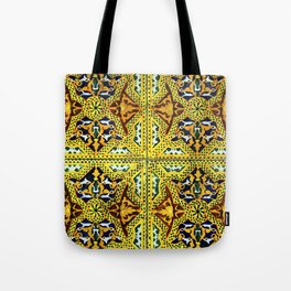 Arabic Tiles Tote Bag