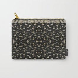 Midnight Romance Sari Carry-All Pouch