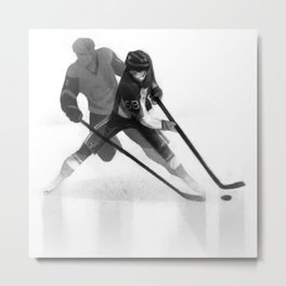 Letang, hockey D-man of 2016 Metal Print