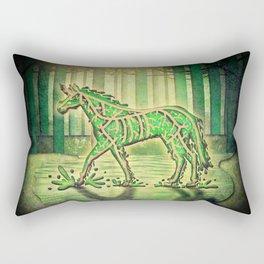 Swamp Unicorn Rectangular Pillow