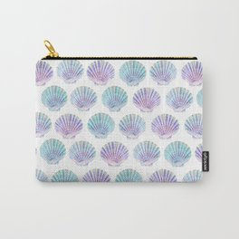 iridescent shells pattern Carry-All Pouch