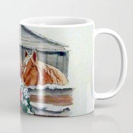 Christmas Ponies Coffee Mug