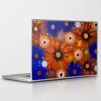 millenium falcon Laptop & iPad Skins featuring Millenium by Louvretta