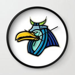 Thoth Egyptian God Mascot Wall Clock