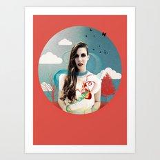 CORNELIAS Heart Rhythms  Art Print
