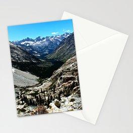 Sierra Nevada Mountain Landscape Stationery Cards