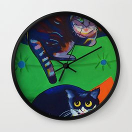 Kit Kats Wall Clock