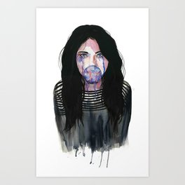 Dont Speak Art Print