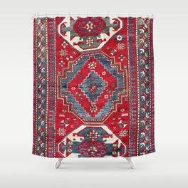Kazak Southwest Caucasus Rug Shower Curtain