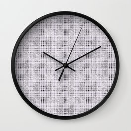 Classical gray cell. Wall Clock