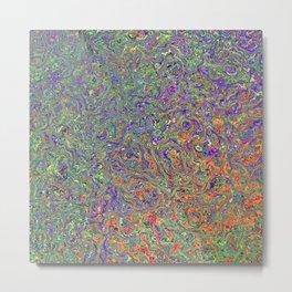 Mixed Colors Metal Print