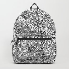 Repeat Pattern Backpack