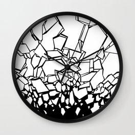 Broken II Wall Clock