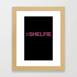 #shelfie Framed Art Print