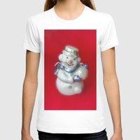 snowman T-shirts featuring Snowman  by Svetlana Korneliuk