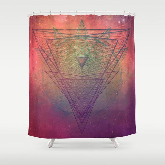 pyrymyd xrayyll Shower Curtain