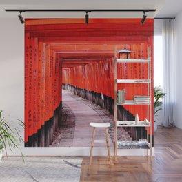 Through the Gates (Kyoto, Japan) Wall Mural
