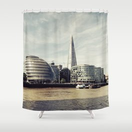 London city view Shower Curtain